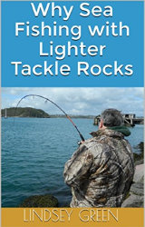 Link to Kindle Version 'Why Sea Fishing with Lighter Tackle Rocks'
